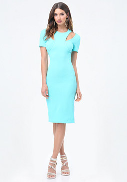 bebe Idina Double Look Dress
