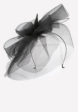 bebe Net Trim Fascinator