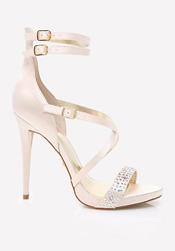 bebe Reina High Counter Sandals