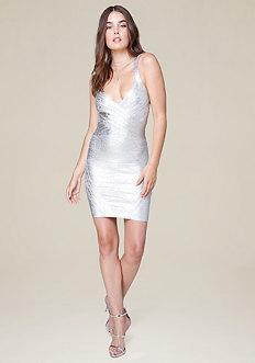 Spotlight Bandage Dress