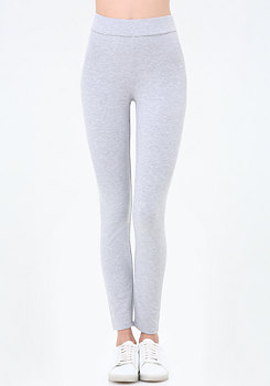 bebe Logo Heathered Leggings