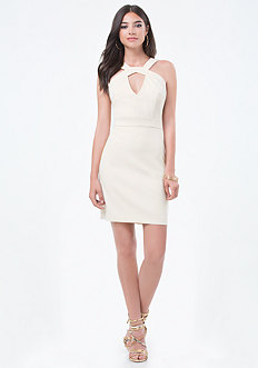 Sarah Twill Cutout Dress