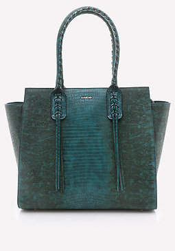 bebe Whipstitch Tote