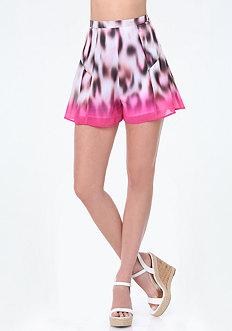 Print Flouncy Shorts