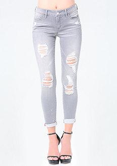 Grey Heartbreaker Jeans