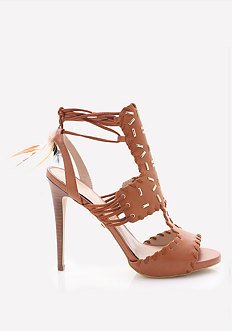 Norra Feather Wrap Sandals