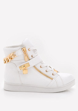 bebe Kandee High Top Sneakers