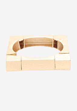 bebe Square Stretch Bracelet