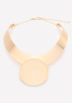 Circle Collar Necklace