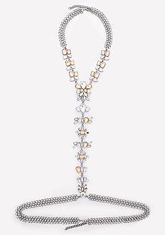 Faux Opal Body Chain