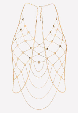 bebe Medallion Body Chain
