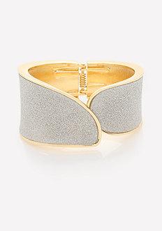 Glitter Overlap Bracelet
