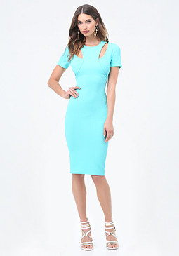 bebe Petite Double Look Dress