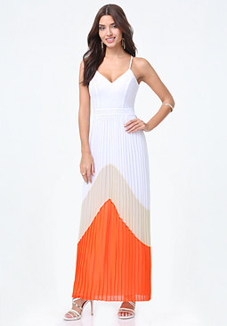 Petite Anastasia Maxi Dress at bebe