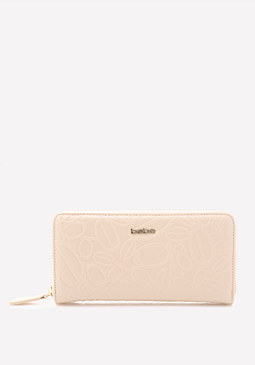 bebe Tossed Logo Wallet