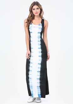 Petite Tie Dye Maxi Dress