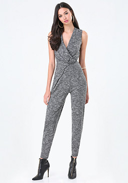 bebe Railey Space Dye Jumpsuit