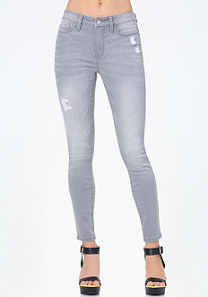 Grey Essential Skinny Jeans