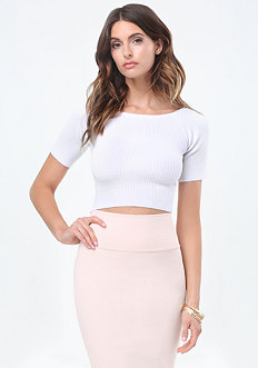 Lucy Textured Sweater Top