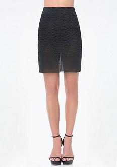 Blaine Soutache Skirt