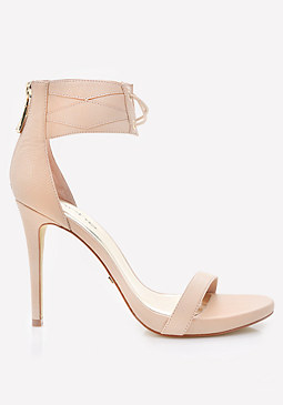 Abella Ankle Strap Sandals at bebe