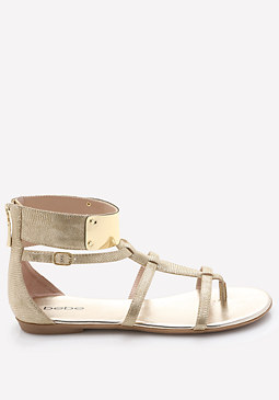 bebe Kellina Ankle Cuff Sandals