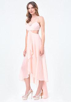 Petite Hi-Lo Bralette Dress