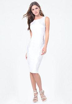 Petite Sequin Detail Dress