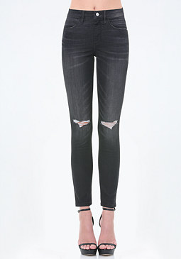 bebe High Heartbreaker Jeans