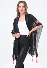 bebe Tassel Cover Up