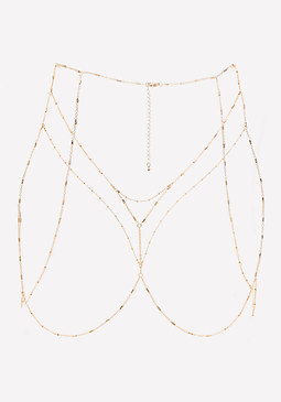 bebe Chain Bra Body Jewelry