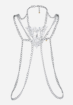 bebe Thick Chain Body Jewelry