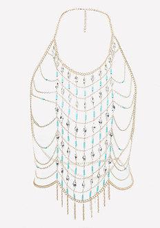 Bead & Crystal Body Chain