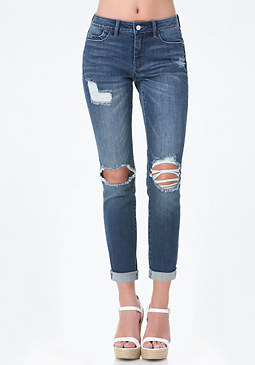 bebe Bleu Girlfriend Jeans
