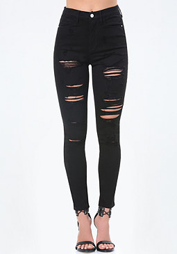 bebe Kim High Heartbreaker Jeans