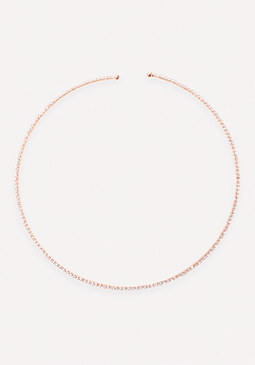 bebe Sparkling Collar Necklace