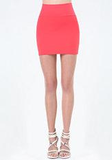 bebe High Waist Miniskirt