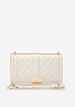 bebe Marie Quilted Crossbody Bag