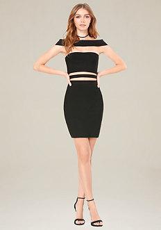 Off Shoulder Cutout Dress