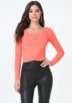 Lina Knot Front Top