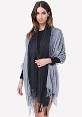 bebe Oversize Ombre Scarf