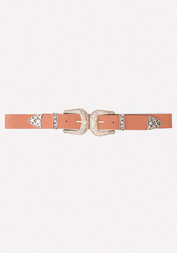 bebe Double Buckle Belt