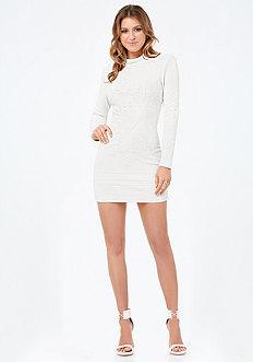 Alana Jacquard Dress
