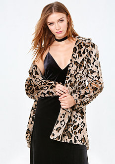 Lazy Leopard Coat
