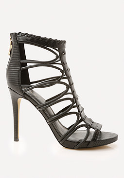 bebe Kayley Cutout Sandals