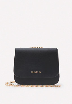 bebe Roxanne Mix Crossbody Bag