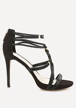 bebe Irinaa Braided Sandals