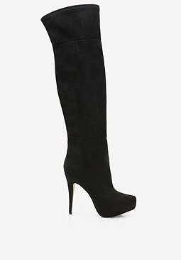 bebe Rihanna Over Knee Boots