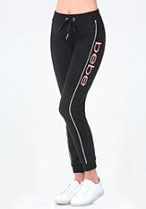 bebe Logo Malibu Jogger Pants