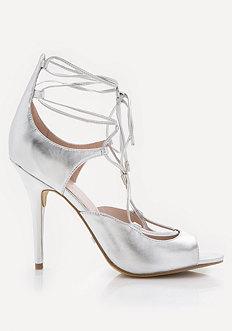 Laraa Metallic Sandals